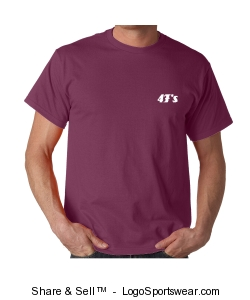 100% Garment-Dyed Adult Tee Design Zoom